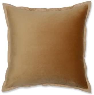 "Pillow Perfect 18""x18"" Velvet Flange Throw Pillow"