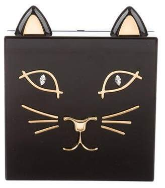 Charlotte Olympia Kitty Box Clutch