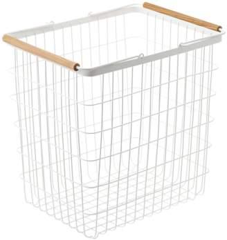 """Yamazaki Home Wire Laundry Basket """"Tosca"""""""
