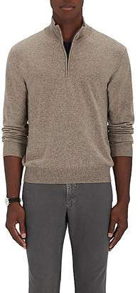 Barneys New York Men's Cashmere Quarter-Zip Pullover