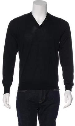 Alexander McQueen Wool V-Neck Sweater w/ Tags