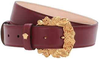 Versace 30mm Leather Belt