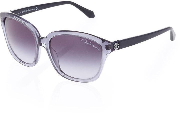 Roberto Cavalli Colorblock Sunglasses, Blue