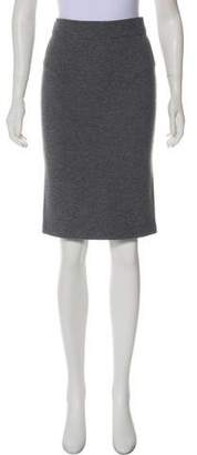 Reed Krakoff Cashmere-Blend Knee-Length Skirt