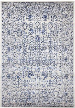 Lalique Network Blue Art Moderne Rug