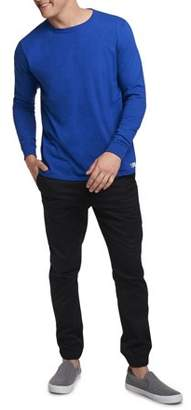 Russell Athletic Big Men's Essential Dri-Power Long Sleeve T-Shirt with 30+ UPF
