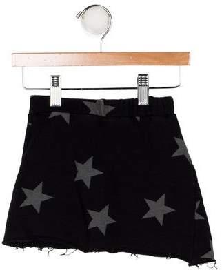 Nununu Girls' Printed Knit Skirt