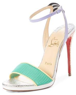 Christian Louboutin Discoport Textured Sandal