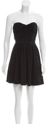 Elizabeth and James Strapless Mini Dress