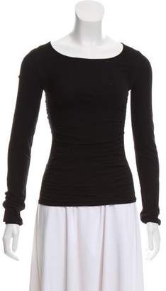 Issey Miyake Ruched Bodycon Top