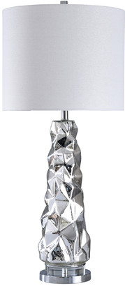Stylecraft Style Craft 38In Silver Mercury Table Lamp