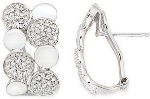 5/8 Carat Diamond 14K White Gold Earrings