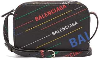 c03e976884b Balenciaga Everyday Xs Leather Cross Body Bag - Womens - Black Multi