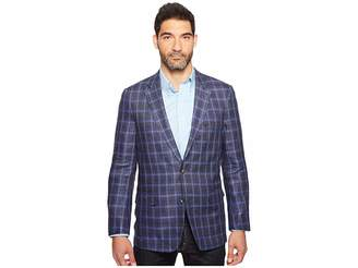 Kroon Taylor Two-Button Washed Coat Men's Coat