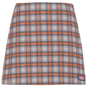 Prada Plaid skirt