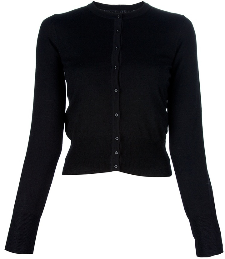 Azzedine Alaia Fitted cardigan