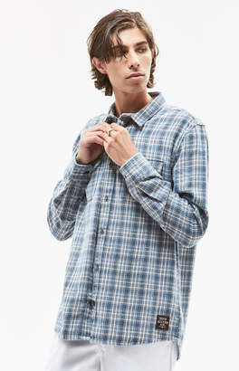 Quiksilver Fuji Tang Plaid Flannel Shirt