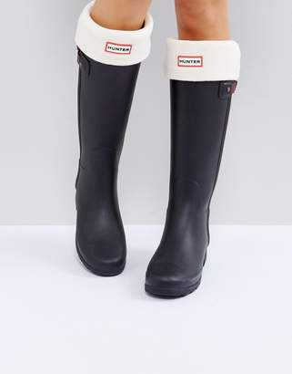 Hunter Cream Tall Boot Socks