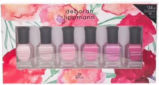 Deborah Lippmann 6 Piece Pink Nail Lacquer Set $34 thestylecure.com