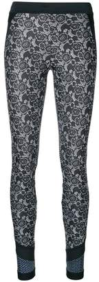 adidas by Stella McCartney panelled compression tights