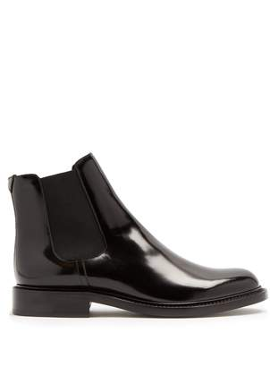 Saint Laurent Army leather chelsea boots