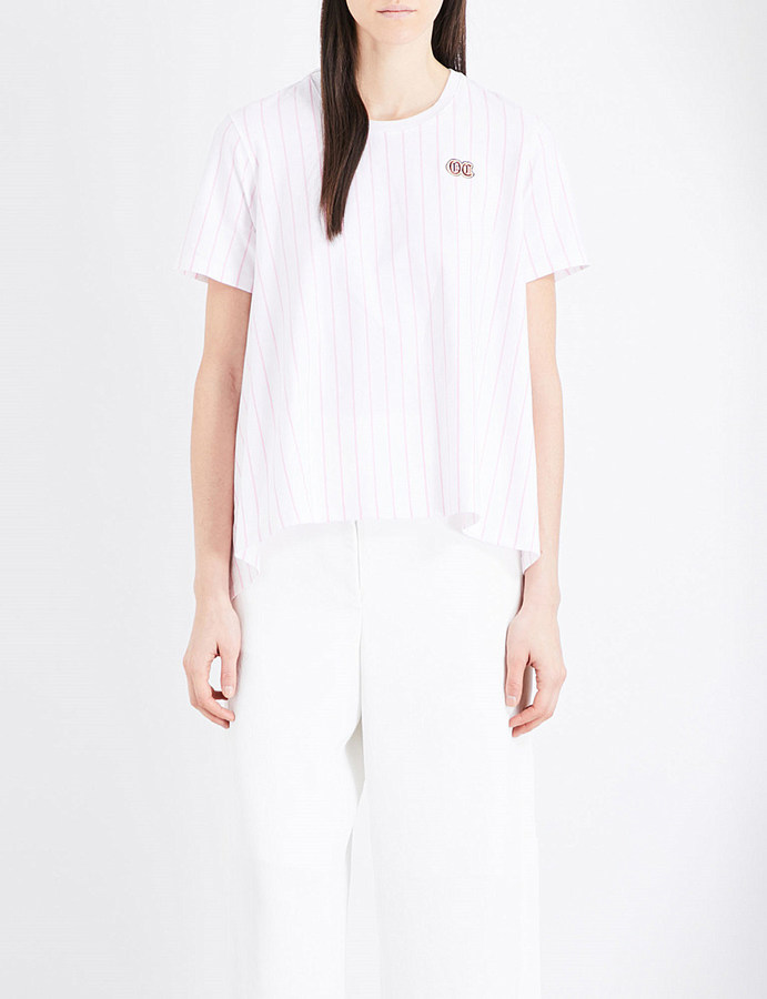 Opening Ceremony Opening Ceremony Delta stretch-cotton T-shirt