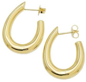 Tiffany & Co. 18K Yellow Gold Hoop Earrings
