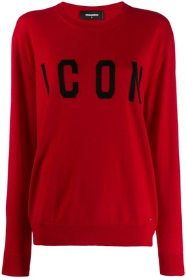 DSQUARED2 icon logo sweater