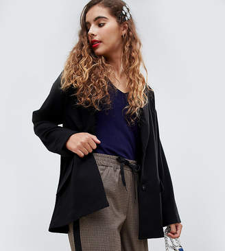 Monki Tailored Popper Blazer