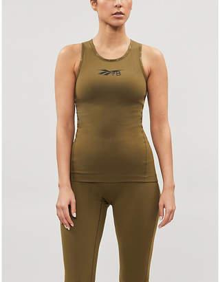 Reebok x Victoria Beckham Sleeveless scoop-neck stretch-jersey tank
