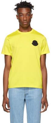 Moncler Genius 2 1952 Yellow Logo T-Shirt