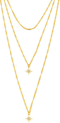 Henri Bendel Five & Two Yolanda Triple Necklace