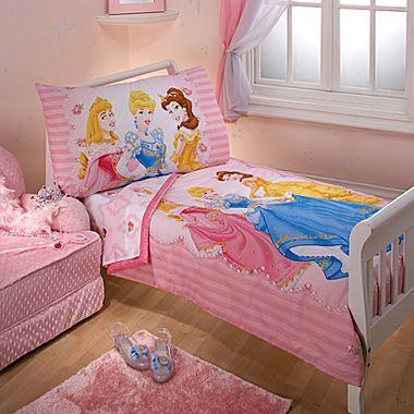 Disney Princess 4-pc. Toddler Bedding