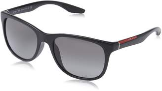 Prada Men's Gradient PS03OS-1BO3M1-55 Square Sunglasses
