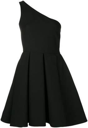 Valentino single shoulder flared dress