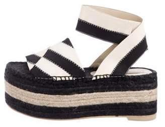 Stella McCartney Woven Flatform Sandals Woven Flatform Sandals