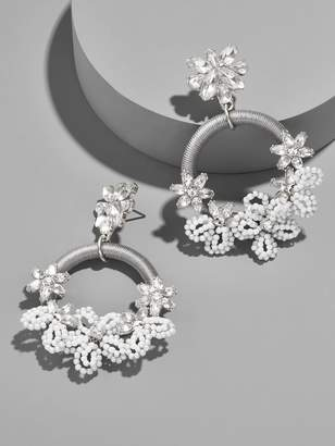 BaubleBar Snowflower Drop Earrings