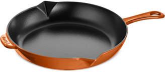 "Staub Enameled Cast Iron 12"" Fry Pan"