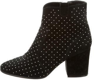 Rebecca MinkoffRebecca Minkoff Suede Stud-Embellished Ankle Boots