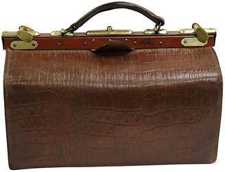 0d7bdf5e50a One Kings Lane Vintage Mid-Century French Leather Doctors Bag - Rose  Victoria