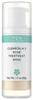 clear REN Clean Skincare Calm Acne Treatment Mask.