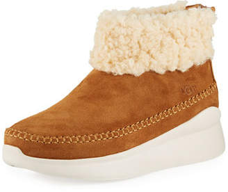 UGG Montrose Short Zip Wedge Boot Sneakers