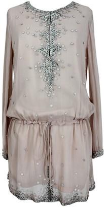 Antik Batik Pink Silk Dresses