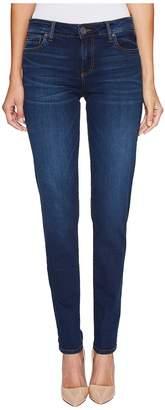 KUT from the Kloth Diana Skinny in Model w/ Dark Stone Base Wash Women's Jeans