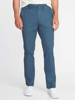 Old Navy Straight Lived-In Built-In Flex Khakis for Men
