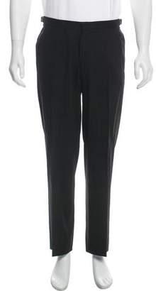Gucci Wool Flat Front Pants