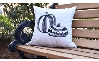 The Holiday Aisle Maser Pumpkin Duo Halloween Outdoor Throw Pillow