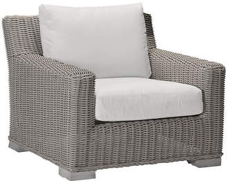 Rustic Oyster Club Chair - White - SUMMER CLASSICS INC