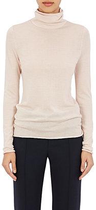 Chloé Women's Cashmere Turtleneck Sweater-LIGHT PINK, NUDE $795 thestylecure.com