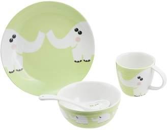 Claytan Baby Elephant Kids Tableware Set
